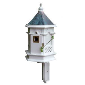 White Gothic Nest Box
