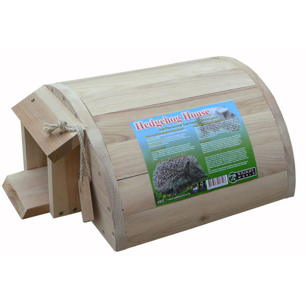 Solid Oak Hedgehog House