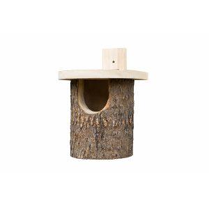 Natural Log Nest Box