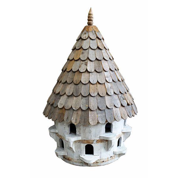 large half round birdhouse