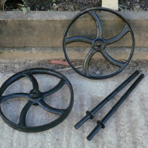 Cast Iron Wheels