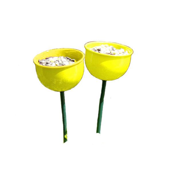 Yellow Colour Cup Feeder