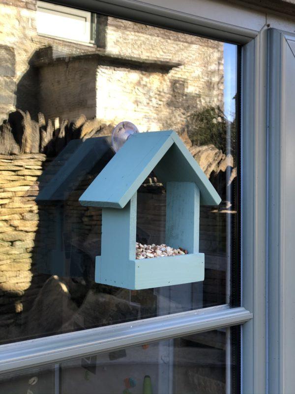 Wooden Window Feeder