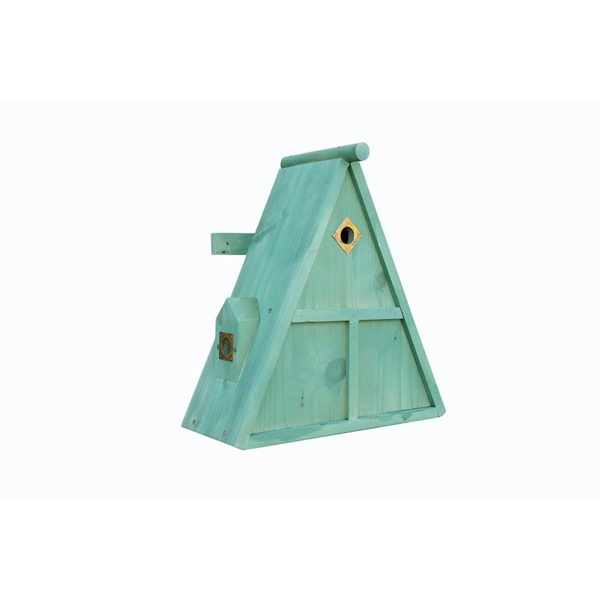 Triple Chambered sparrow Nest Box