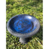 Blue Coniston Bird Bath