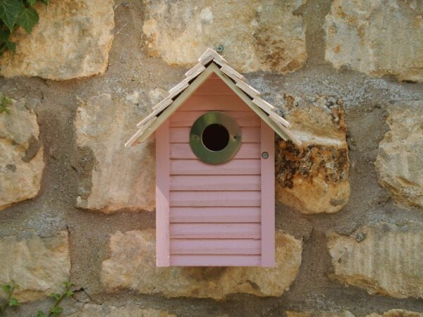 new england nest box pink