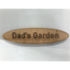 Personalised Wooden Name Badge