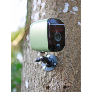Wireless Wildlife Camera using Wifi with motion sensor