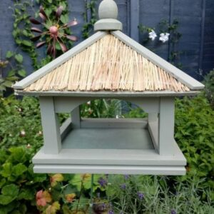 Thatched Bird Table